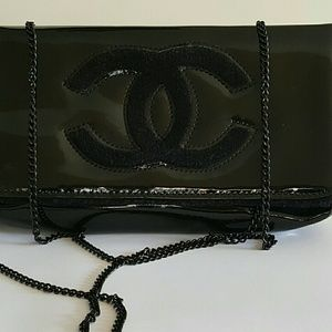 Authentic chanel cosmetics bag